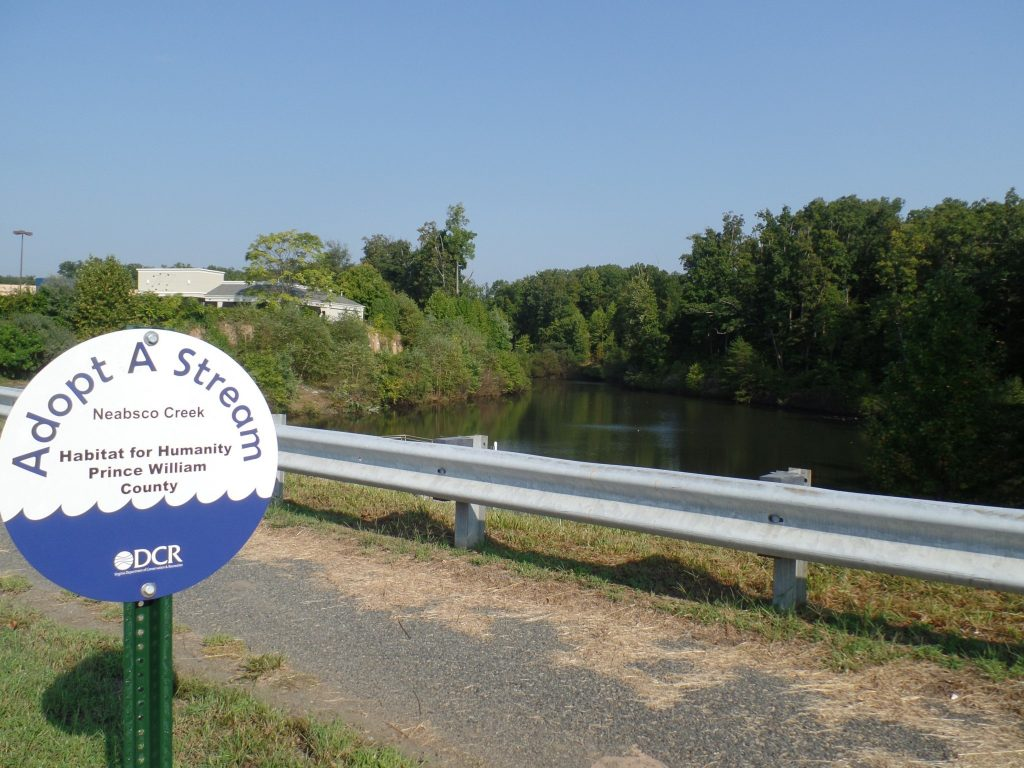 Parkway Pond - AAS sign
